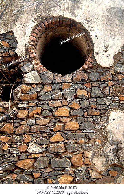 Sewree fort in Bombay Mumbai ; Maharashtra ; India