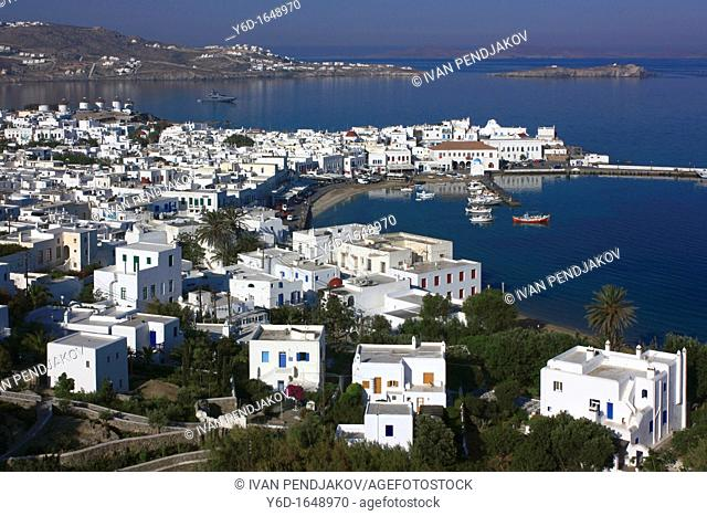 Mykonos Town, Mykonos, Cyclades, Greece