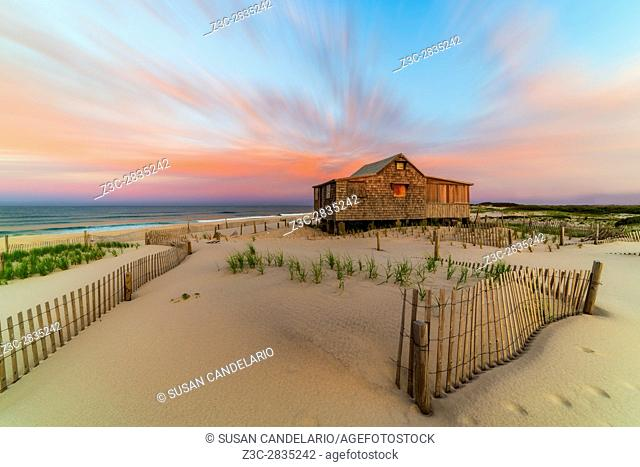 Judges Shack NJ Shore - The Judge's Shack at Island Beach State Park (IBSP) at the New Jersey shore. This original fishing shack is believed to have been built...