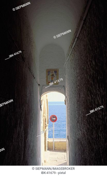 Sitges old town at Costa de Garraf - Palau Marycel Spain