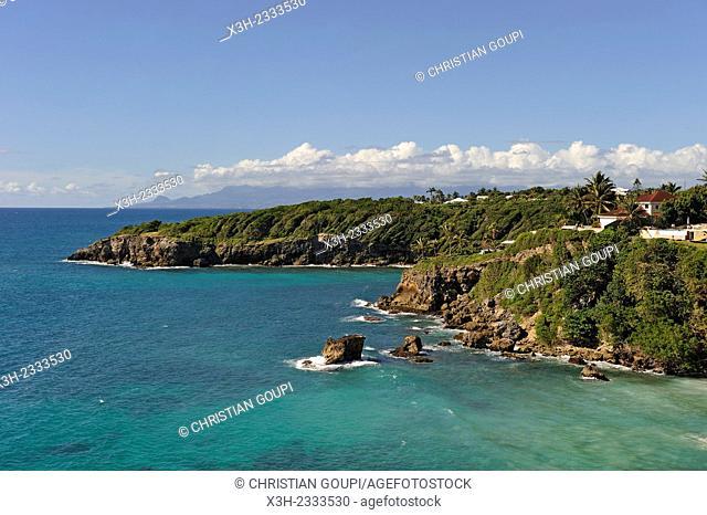 Eblain's cove, Sainte-Anne, Grande-Terre, Guadeloupe, overseas region of France, Leewards Islands, Lesser Antilles, Caribbean