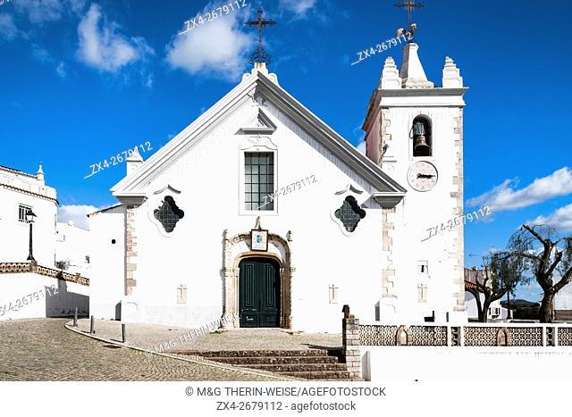 Alte village and Nossa Senhora da Assunçao Church, Algarve, Portugal
