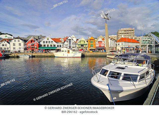 Port of Stavanger, Rogaland, Norway, Scandinavia, Europe