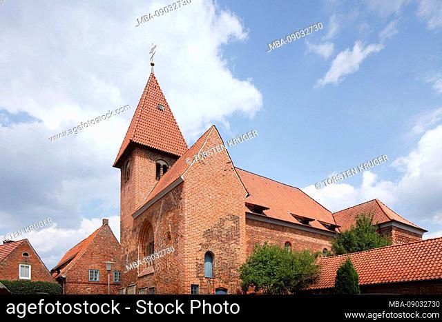 Monastery church Sankt Marien, Osterholz-Scharmbeck, Lower Saxony, Germany, Europe