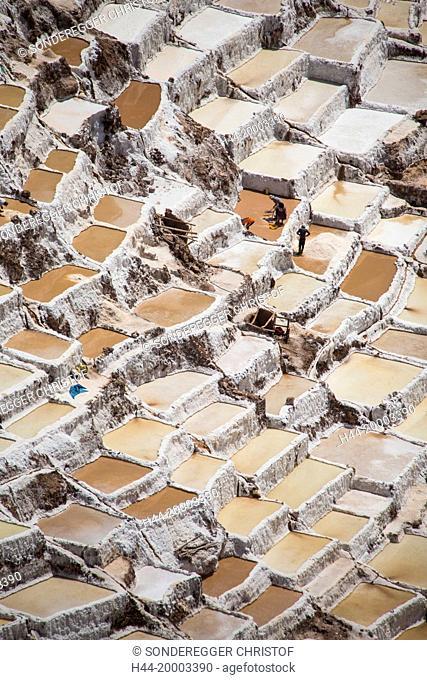 Salt terraces of Maras