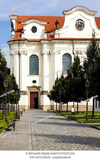 Brevnov Monastery, Prague, Czech Republic
