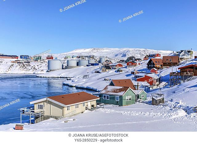 town of Ilulissat, Greenland