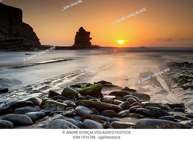 Sunset in Peniche, Portugal, Europe