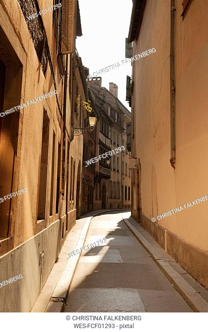 France, Alsace, Strasbourg, old town, small alley