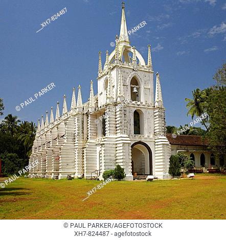 Mae De Deus Church, Saligao, Goa, India