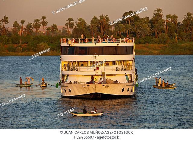 Nile River Cruises. Nile Valley. Egipt