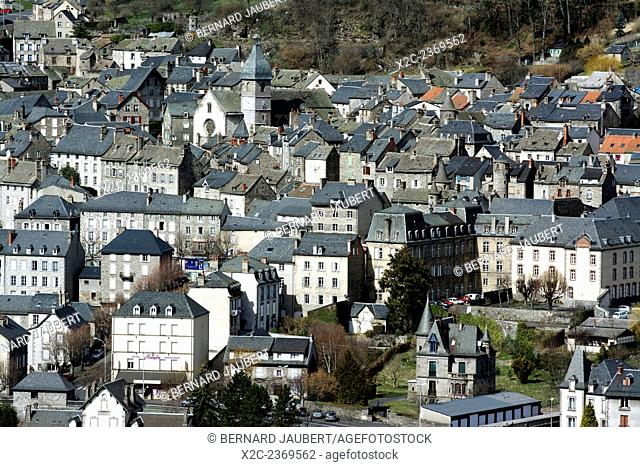 Town of Murat, Cantal, France, Europe