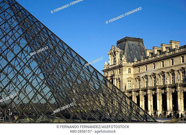 Louvre Museum. Paris. France. Europe