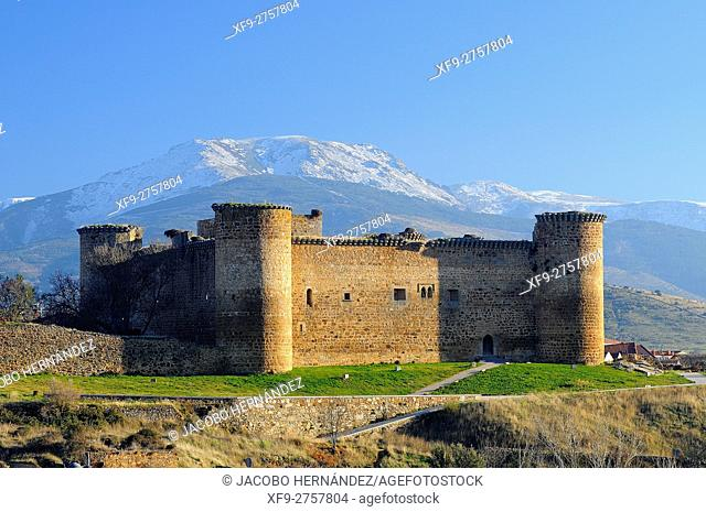 Castle of Valdecorneja.14th century.Barco de Ávila.Ávila province.Castilla y León.Spain