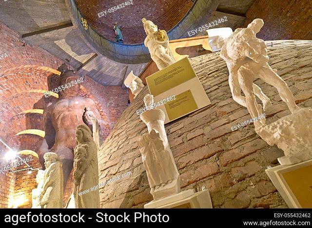 City Hall, Inside Tower Museum, Stockholm, Sweden, Scandinavia, Europe