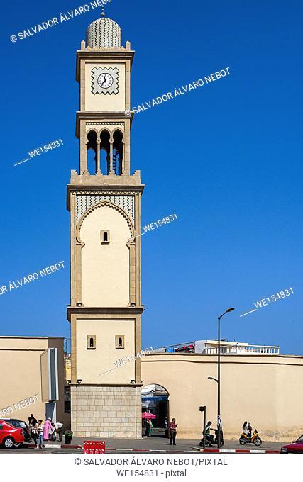 Old Medina of Casablanca, Morocco, Africa
