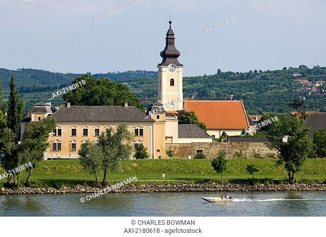 Europe, Austria, Wachau, Mautern Church Near Krems An Der Donau