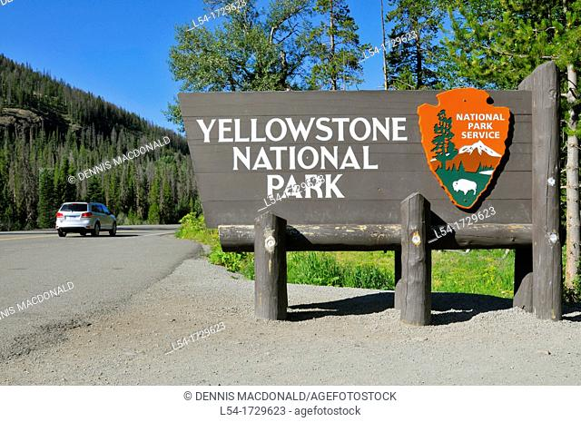 Yellowstone National Park Wyoming WY United States