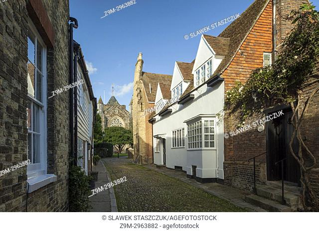 Spring afternoon in Rye, East Sussex, England