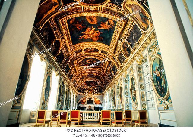 Fontainebleau, France, inside French Chateau, Trinity Chapel