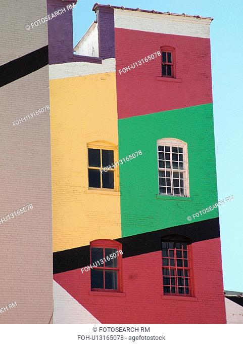 Minneapolis, MN, Minnesota, Twin Cities, Downtown, building, wall mural