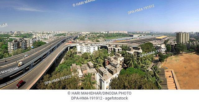Santacruz Chembur Link Road Flyover Mumbai Maharashtra India Asia