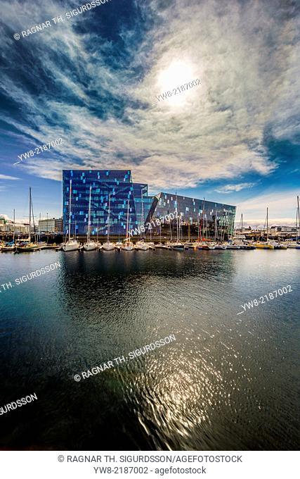 Harpa Concert Hall and Conference Center, Reykjavik Iceland