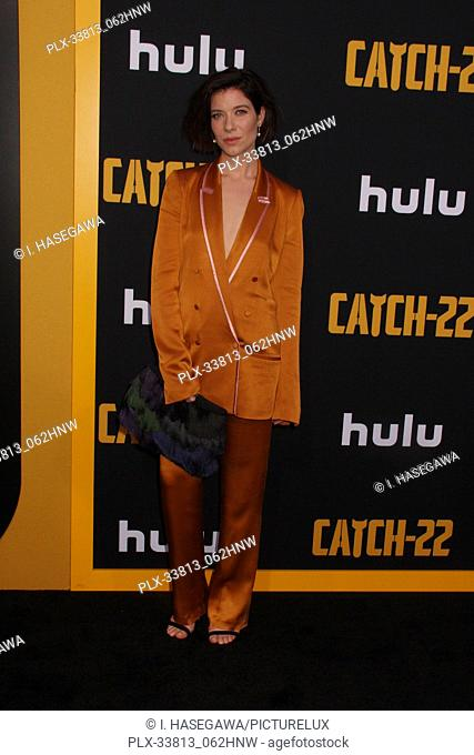 "Tessa Ferrer 05/07/2019 The U.S. Premiere of Hulu's """"CATCH-22"""" held at The TCL Chinese Theatre in Los Angeles, CA Photo by I"