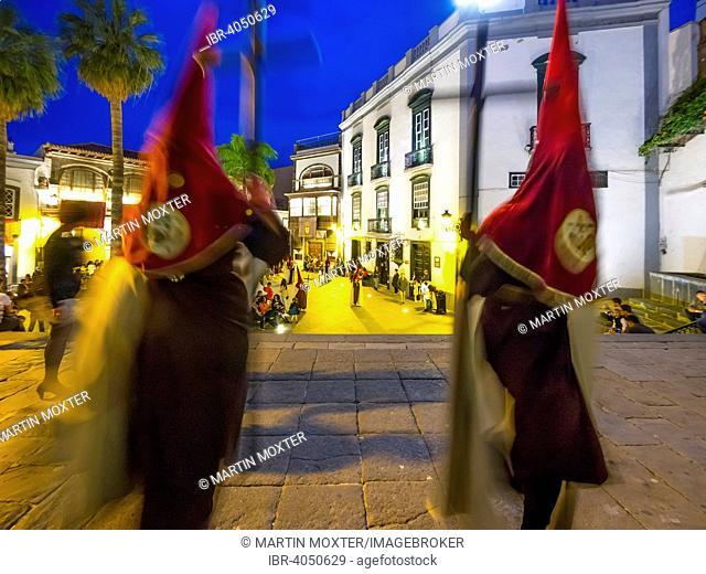Easter Procession, Plaza de España, Santa Cruz de La Palma, Canary Islands, Spain