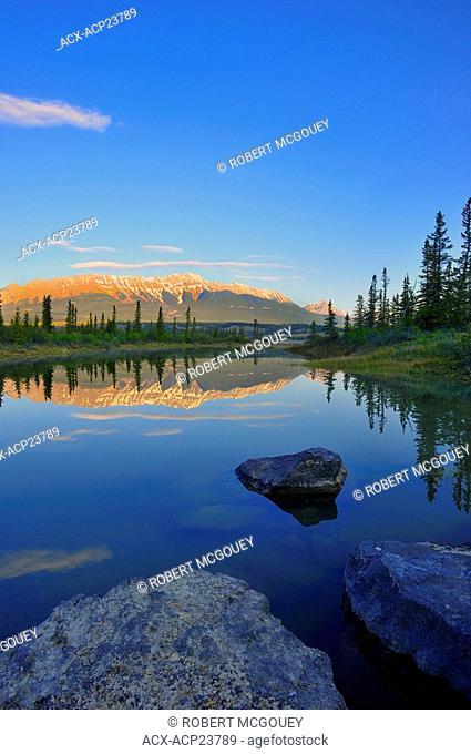 Athabasca River, Jasper National Park, Alberta Canada