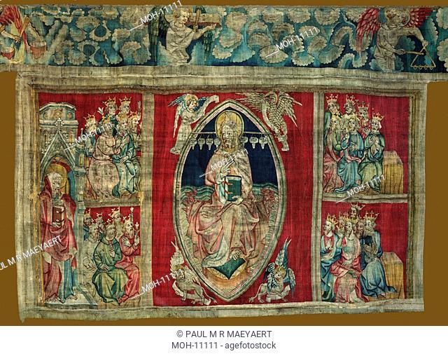 La Tenture de l'Apocalypse d'Angers, Dieu en Majesté 1,51 x 2,60m