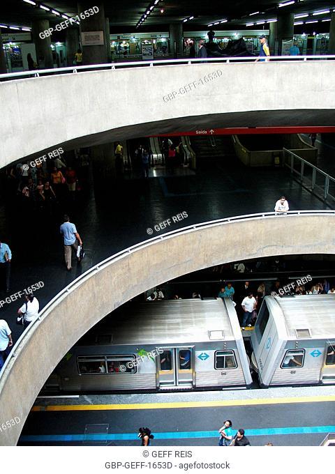Sé station, São Paulo, Brazil