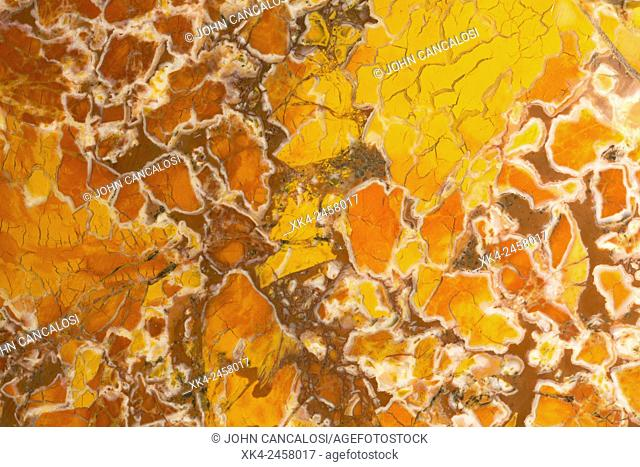 Stone canyon jasper, California, cryptocrysatline quartz