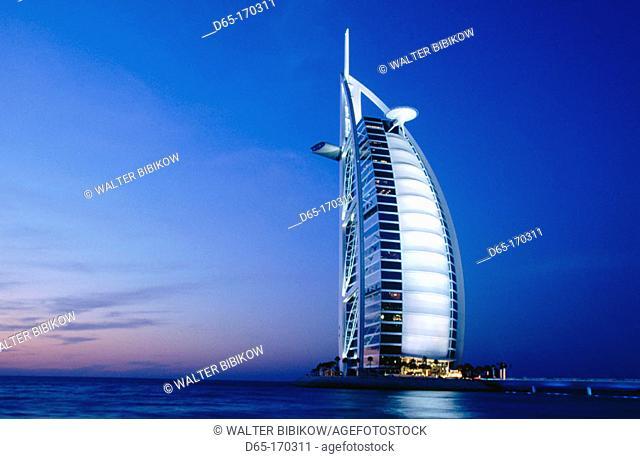 Burj Al Arab hotel. Dubai. UAE (United Arab Emirates)