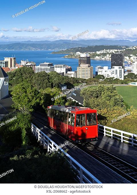 Botanic Garden WELLINGTON NEW ZEALAND Cable car Wellington