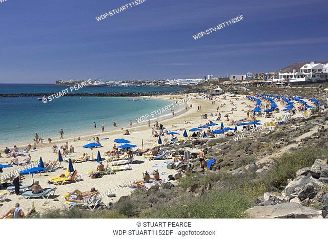 Playa Dorada, Playa Blanca, Lanzarote, Canary Islands