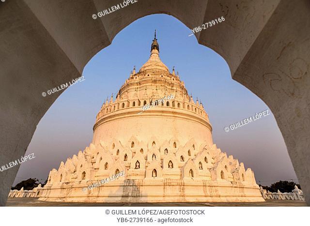 Hsinbyume pagoda, Mingun, Sagaing, Myanmar