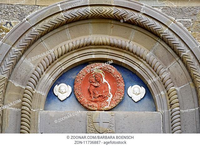 San Niccolo church, Radda in Chianti, Tuscany, Italy, Europe, San Niccolo Kirche, Radda in Chianti, Toskana, Italien, Europa