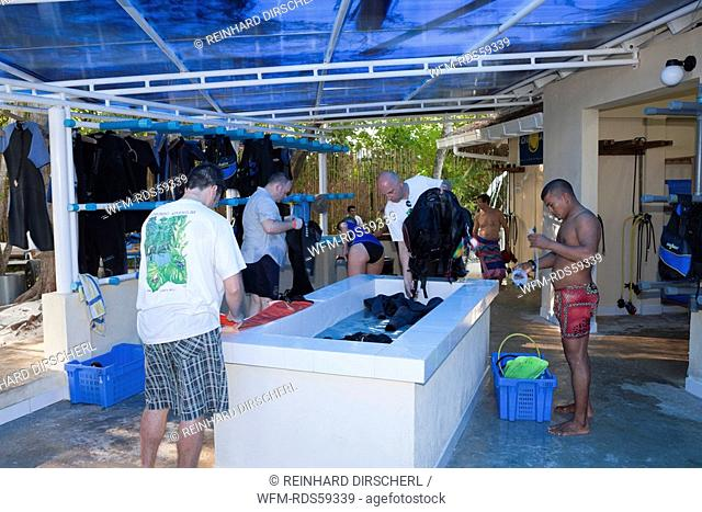 Dive Centre of Maldive Island Ellaidhoo, North Ari Atoll, Maldives