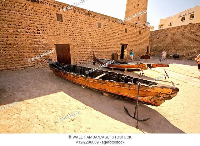 Al Fahidi fort, Dubai Museum, Dubai, United Arab Emirates, Middle East
