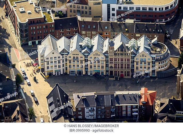 Großer Markt, Wesel, Rhineland, North Rhine-Westphalia, Germany
