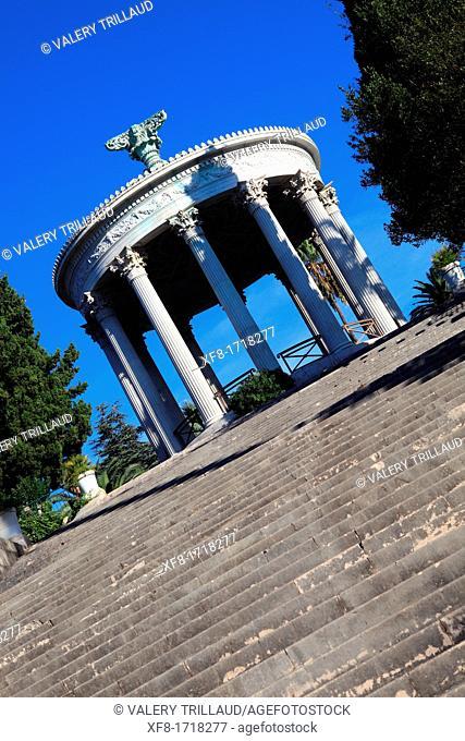 The parc Chambrun, Nice, Alpes-Maritimes, French Riviera, Provence-Alpes-Côte d'Azur, France