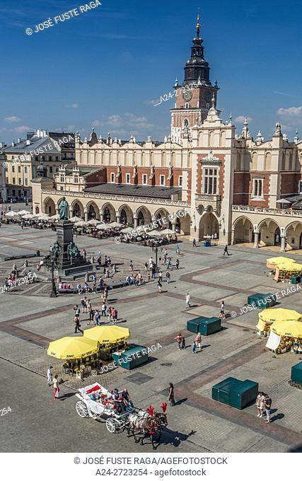 Poland, Krakow City, Market Square, Town Hall Tower (Wieza Ratuszowa)
