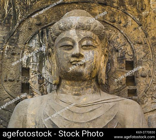 The grottoes were started around the year 493 when Emperor Xiaowen of the Northern Wei Dynasty (386-534) moved the capital to Luoyang and were continuously...