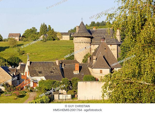 France, Correze, Sainte Fortunade, the castle