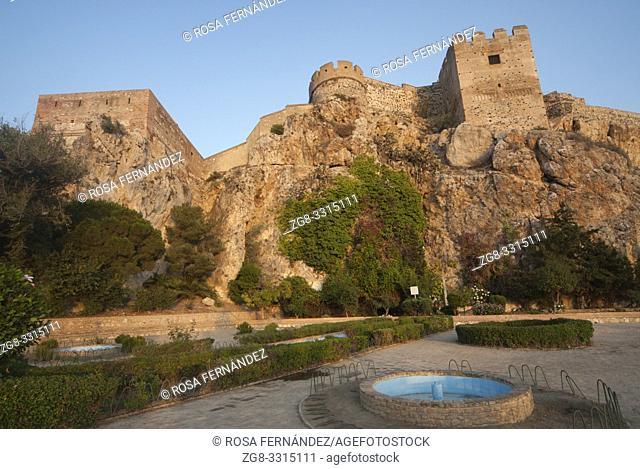 Castle of Salobreña, X Century, province of Granada, Andalucia, Spain