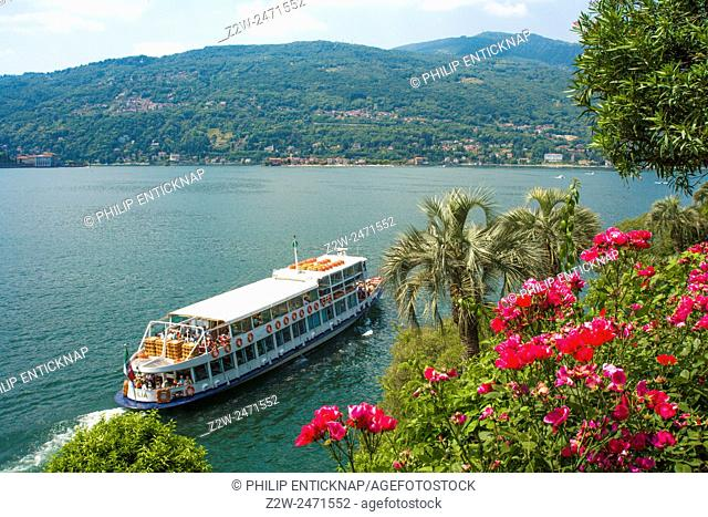 Lake Maggiore or Lago Verbano is a large lake located on the south side of the Alps. It is the second largest lake in Italy in the Lombardy region