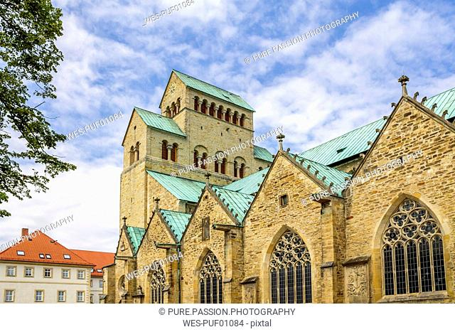Germany, Hildesheim, view to Cathedral