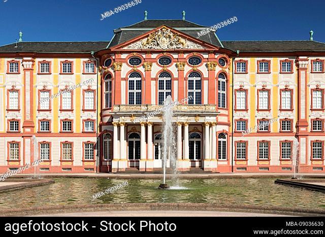 Castle Bruchsal, Baden-Wurttemberg, Germany