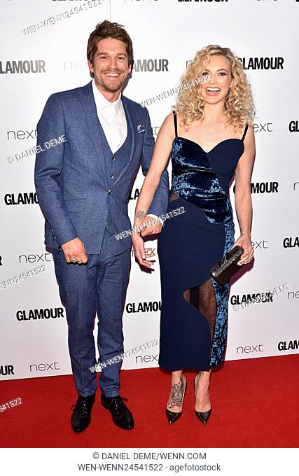 Glamour Women Of The Year Awards held on Berkeley Square - Arrivals Featuring: Jesse Wood, Fearne Cotton Where: London, United Kingdom When: 07 Jun 2016 Credit:...